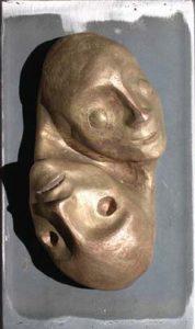 Premio Sofia Amendolea 2003 fusione in bronzo su acciaio